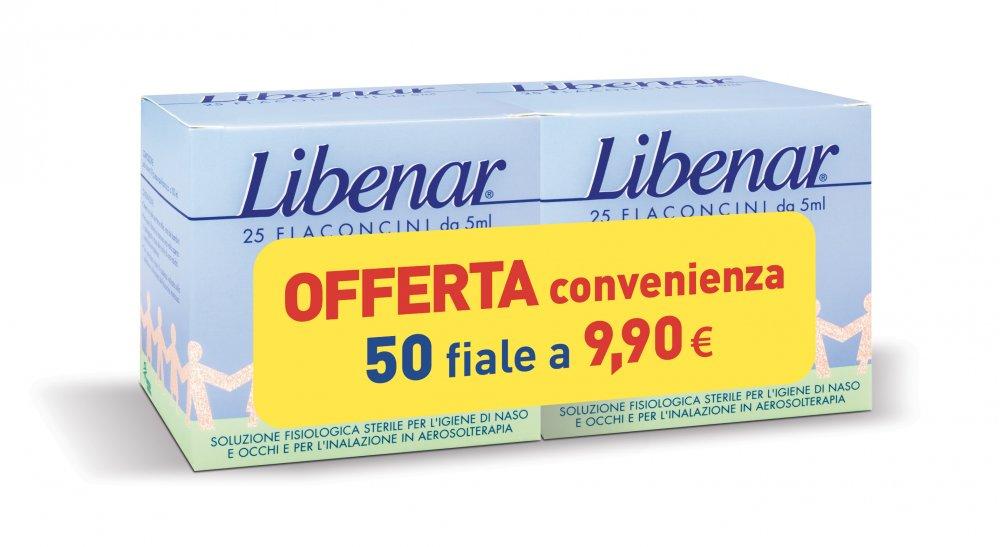 LIBENAR 25F+25F 50 flaconcini - Zfarmacia