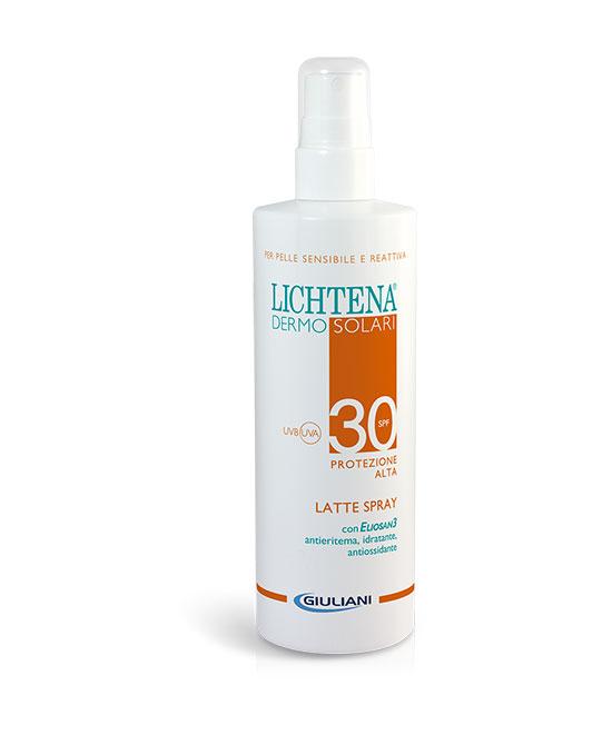 LICHTENA DERMOSOL LATTE SPRAY SPF 30 200 ML - La tua farmacia online