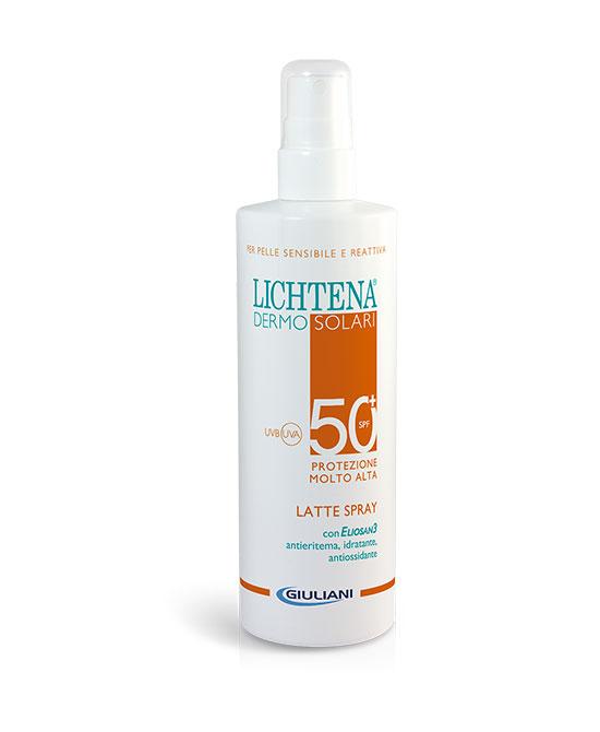 LICHTENA DERMOSOL LATTE SPRAY SPF 50+ 200 ML - La tua farmacia online
