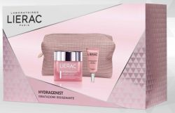 LIERAC COFANETTO  HYDRAGENIST NUTRIBAUME 50 ML + CONTORNO OCCHI 3 ML + POCHETTE - Farmastar.it