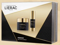 LIERAC COFANETTO PREMIUM VOLUPTUEUSE CREMA 50 ML + PREMIUM OCCHI 15 ML - Farmastar.it