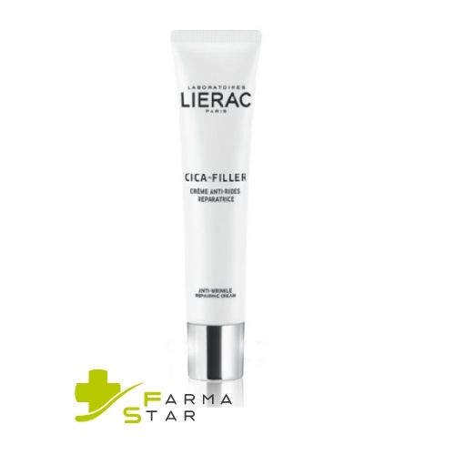 LIERAC CICA FILLER CREMA ANTI-RUGHE RIPARATRICE PELLE SECCA 40 ML - Farmastar.it