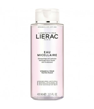 LIERAC EAU MICELLAIRE STRUCCANTE FORMATO CONVENIENZA 400 ML - Farmastar.it