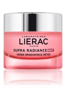 Lierac Supra Radiance Rad Notte Crema Detox Rinnovatrice 50 ml - Farmacia 33