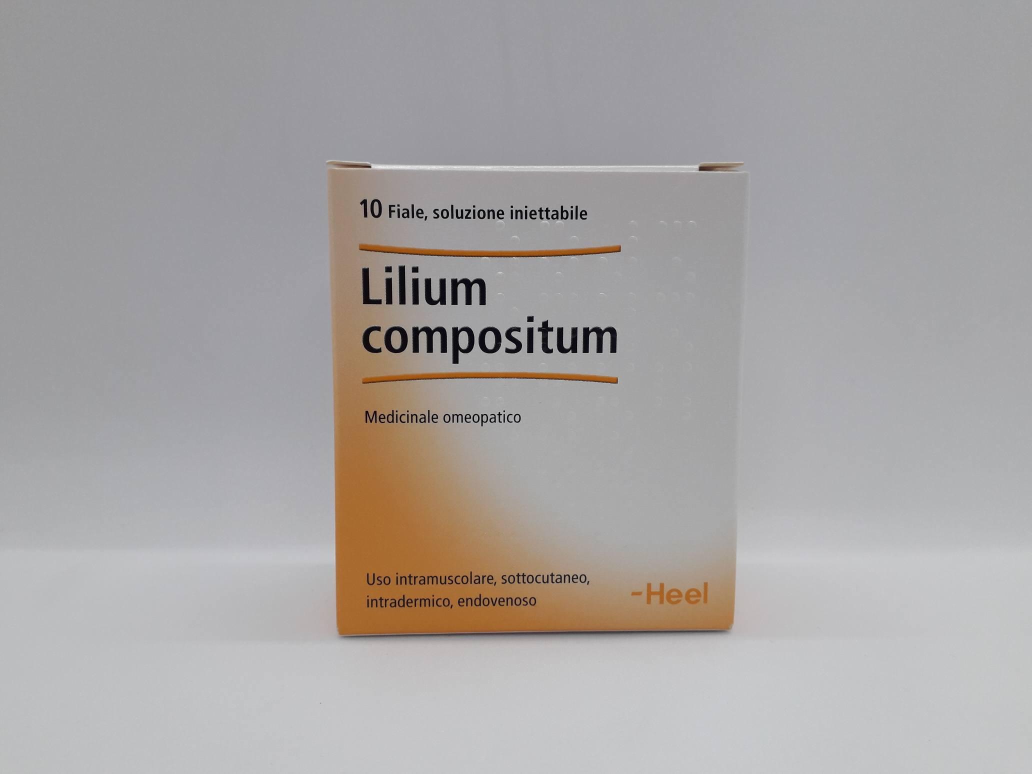 LILIUM COMPOSTA 10 FIALE DA 2,2 ML L'UNA - Farmaciaempatica.it