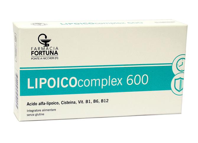 TuaFarmaOnline Lipoico Complex 600 Integratore Alimentare Difese 30 Compresse - La tua farmacia online