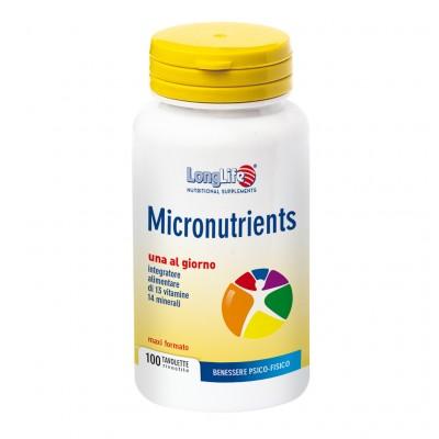 LONGLIFE MICRONUTRIENTS 100TAV - Zfarmacia