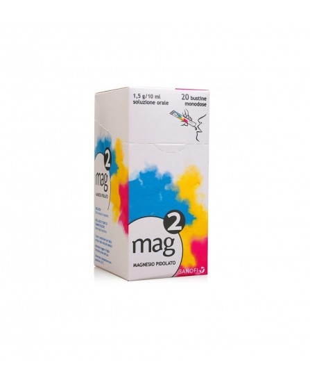 MAG 2 Soluzione Orale 20 Bustine 1,5G 10ML - La tua farmacia online