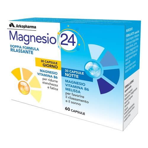 Arkopharma Magnesio 24 Integratore Energetico 60 Capsule - La tua farmacia online