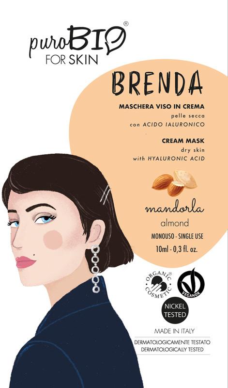 MASCHERA VISO BRENDA PUROBIO 01 - Parafarmaciabenessere.it