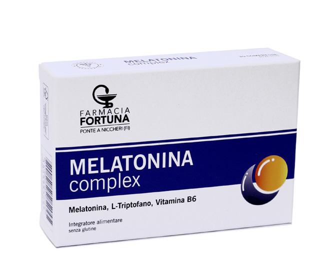 TuaFarmaonLine MELATONINA complex Integratore Sonno e Relax 30 Compresse - La tua farmacia online