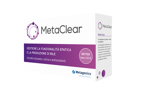 Metagenics Metaclear Integratore Fegato 60 Capsule - Farmastar.it