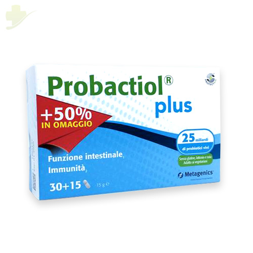 METAGENICS PROBACTIOL PROTECT AIR PLUS PROMOPACK 2018 30 + 15 CAPSULE OMAGGIO - Farmastar.it