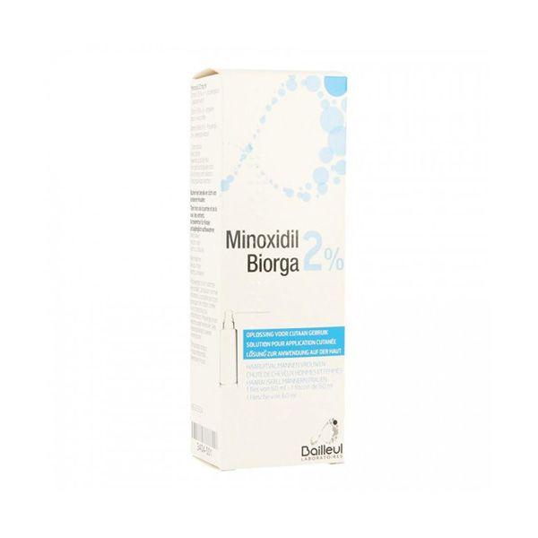 MINOXIDIL BIORGA*SOL CUT60ML2% - FARMAPRIME