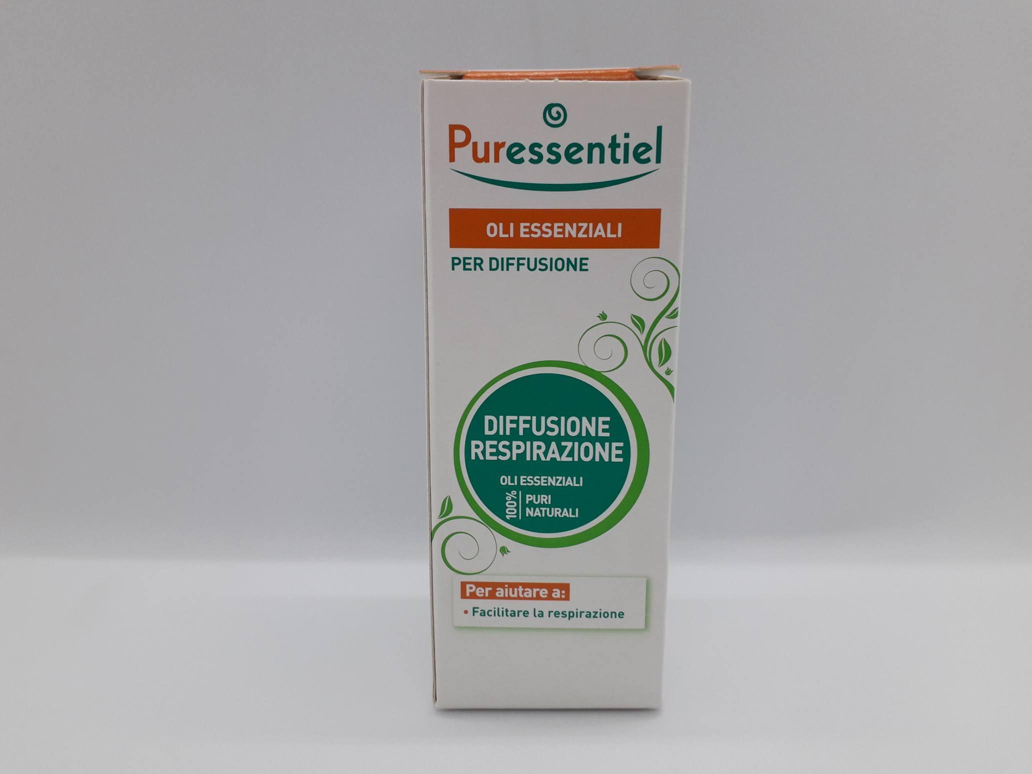 MISCELA RESPIRAZIONE PER DIFFUSIONE 30 ML PURESSENTIEL - Farmaciaempatica.it