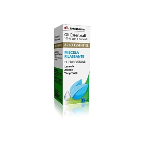 Arkopharma Oli Essenziali Miscela Rilassante Per Diffusione 15 ml - La tua farmacia online