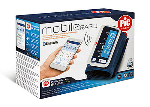 Artsana Pic Mobile Rapid Misuratore Di Pressione Digitale Bluetooth  - La tua farmacia online