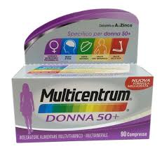 MULTICENTRUM DONNA 50+ 90 COMPRESSE - Zfarmacia