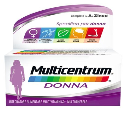 MULTICENTRUM DONNA 60 COMPRESSE - Farmastar.it