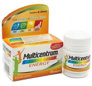 MULTICENTRUM MC ENERGY 25 CAPSULE - Farmalandia