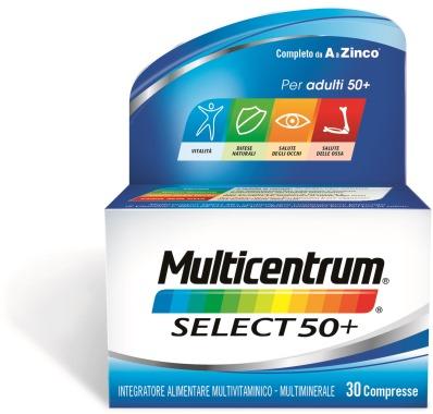 Multicentrum Select 50+ 30 Compresse - Farmalilla