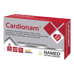 Named Cardionam Integratore Alimentare 30 Compresse - Farmamille
