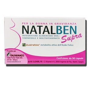 NATALBEN SUPRA 90 CAPSULE MOLLI - Farmacia 33