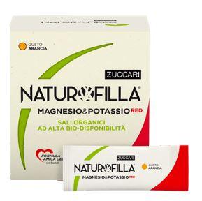 NATUROFILLA MAGNESIO & POTASSIO RED GUSTO ARANCIA 14 STICK PACK - Farmacia 33