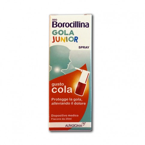 NEOBOROCILLINA GOLA JUNIOR SPRAY 20 ML - Farmamille