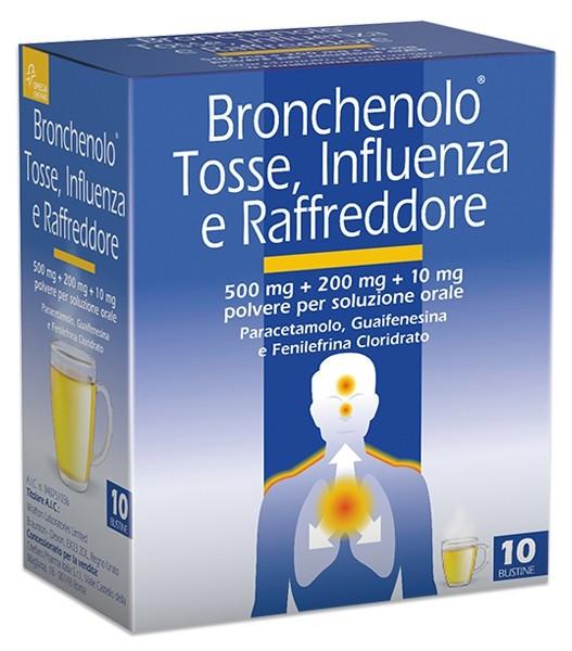 BRONCHENOLO TOSSE INF RAFF*10BS - La tua farmacia online