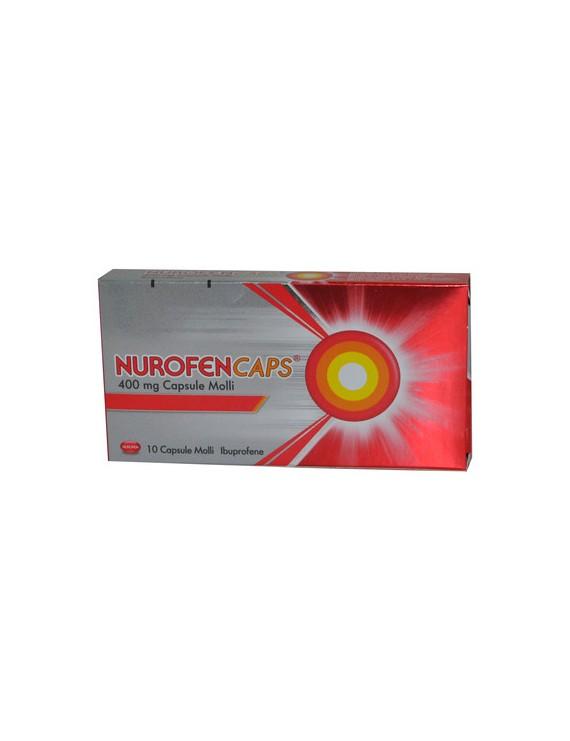 NUROFENCAPS*10CPS MOLLI 400MG - Farmacento