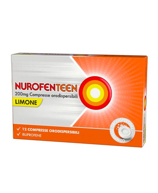 NUROFENTEEN*12CPR OROD 200MG M - La tua farmacia online