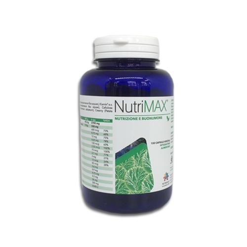 Nutrigea NutriMax Integratore Alimentare 150 Capsule - Farmastar.it