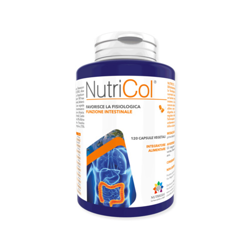 Nutrigea Nutricol 120 Compresse Integratore Alimentare Linea Intestino Sano - Farmastar.it