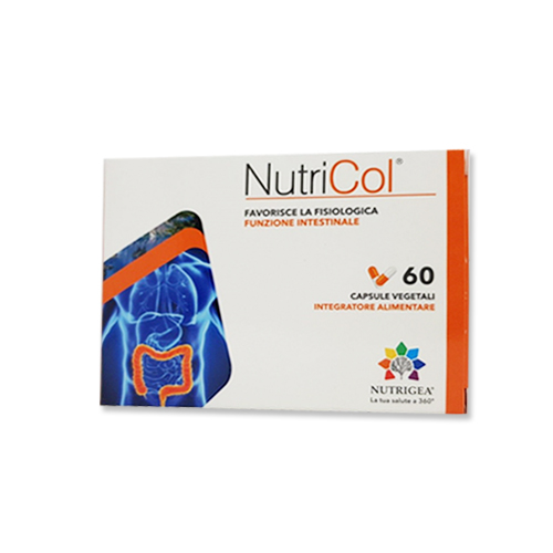 Nutrigea Nutricol 60cps - Farmastar.it