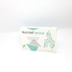 NUTRIDEF AEROSOL 10 FIALE 3 ML - Farmacia 33