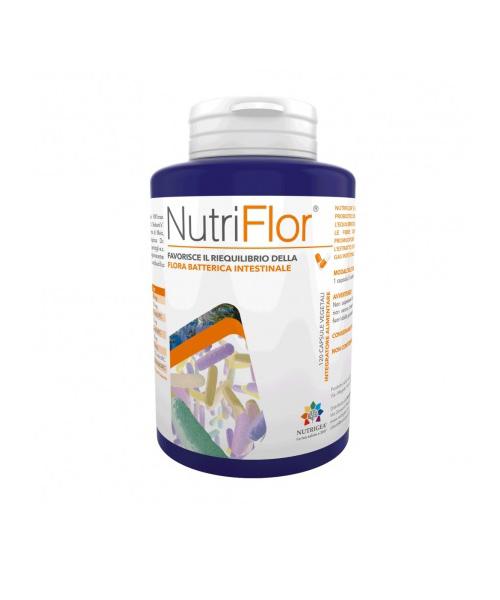 Nutrigea NutriFlor Integratore Alimentare Fermenti Lattici 180 Capsule - Farmastar.it