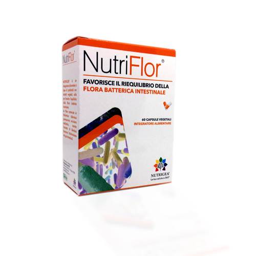 Nutrigea NutriFlor 60 Capsule - Farmastar.it