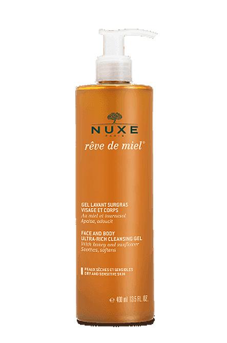 Nuxe Reve De Miel Gel Lavant Surgras Detergente Pelli Disidratate Viso e Corpo 400 ml - La tua farmacia online