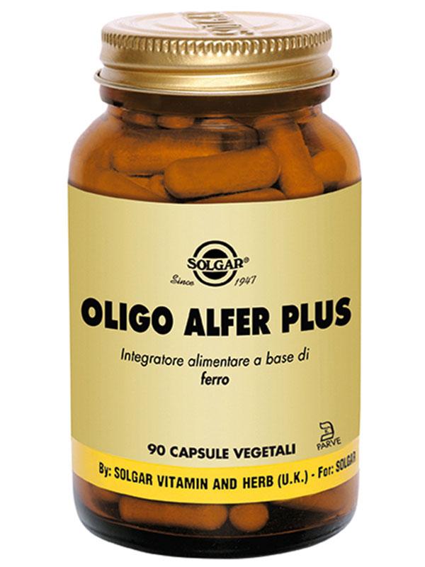 Solgar Oligo Alfer Plus 90 Capsule Vegetali - Farmacia 33