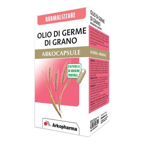 Arkocapsule Olio Germe di Grano Integratore Normalizzante 45 Capsule - La tua farmacia online