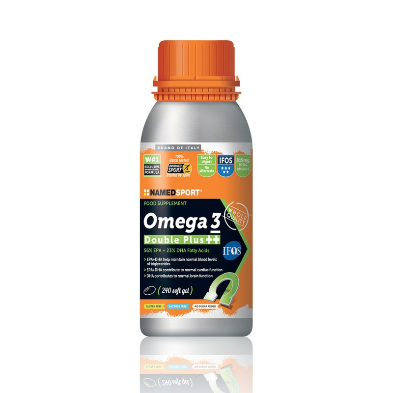 OMEGA 3 DOUBLE PLUS++ 240 CAPSULE SOFTGEL - Farmamille