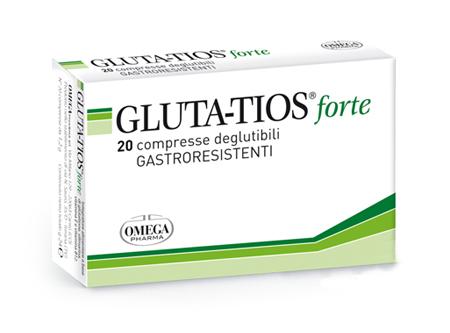 Omega Pharma Gluta-Tios Forte Integratore Alimentare 20 Compresse - La tua farmacia online