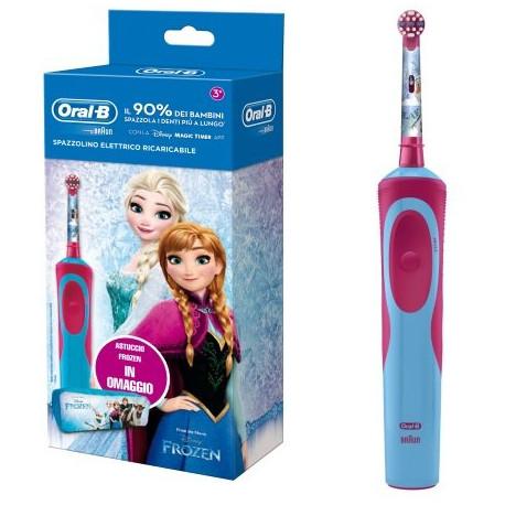 Spazzolino Elettrico per Bambini Oral-B Power Vitality Kids Frozen - Farmalilla
