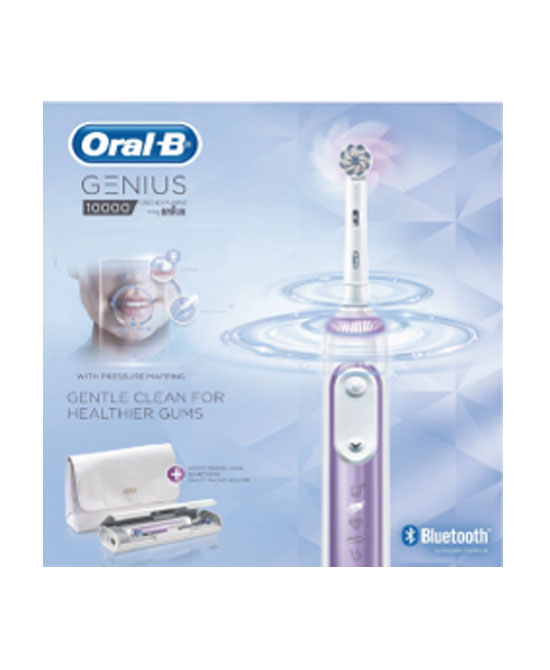 ORAL-B POWER GENIUS 10000S ORCHIDEA - La tua farmacia online