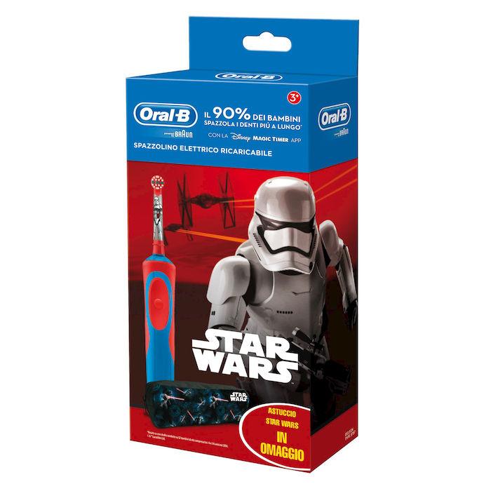 Spazzolino Elettrico per Bambini Oral-B Power Vitality Kids Star Wars Special Pack - Farmalilla