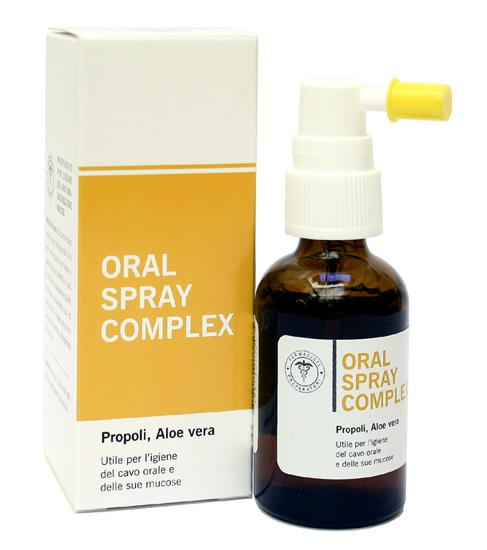 TuaFarmaOnline Oral Spray Comlex Propoli e Aloe per Igiene del Cavo Orale 30ml - La tua farmacia online