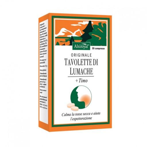 ORIGINALE LUMACHE+TIMO 30 TAVOLETTE MASTICABILI - Farmamille