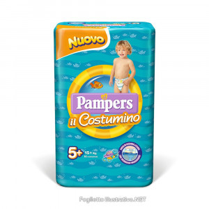 PAMPERS COSTUMINO CP 10 TG 5+ TG 5+ 10 PEZZI - Farmamille