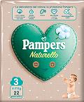 PAMPERS NATURELLO MIDI Taglia 3 (4-9kg) 22 Pannolini - Farmamille